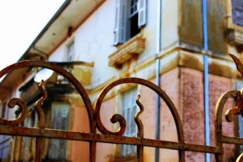Brazilian Architecture Beautiful Old House Old