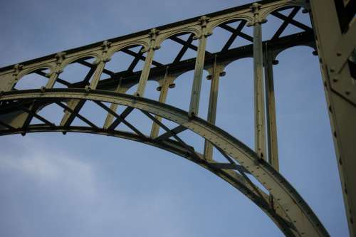 Bridge Steel Structure Architecture Building Steel