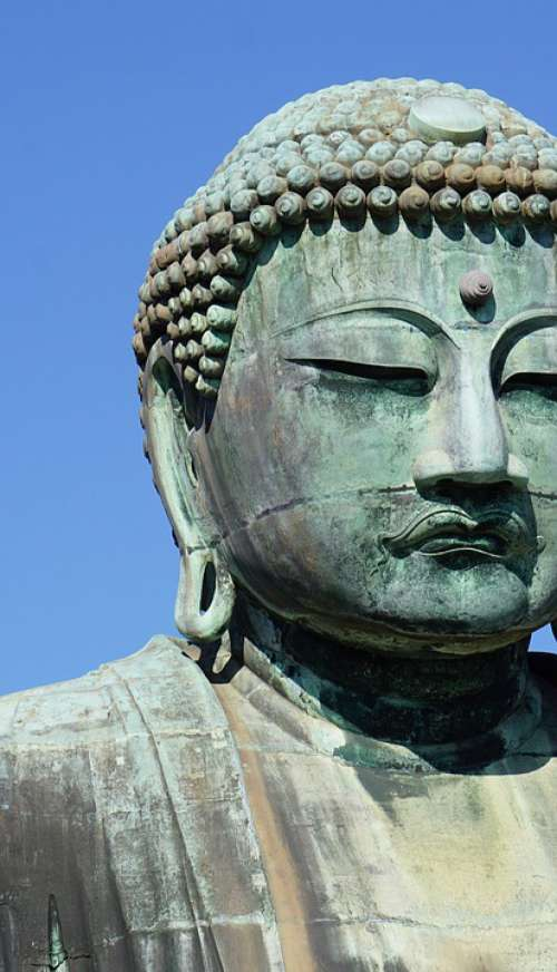 Buddha Big Buddha Japan Close Up Asia Travel
