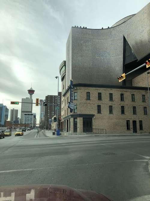 Calgary King Eddy Calgary Tower Downtown