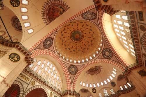 Cami Islam Süleymaniye Istanbul Architecture