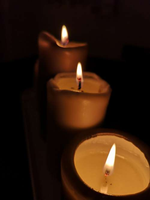 Candles Candle Candlelight Romance Memorial Candle