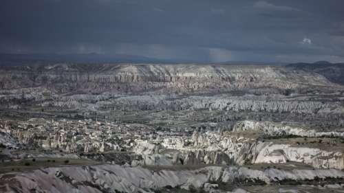 Cappadocia Landscape Mountain Panorama Valley
