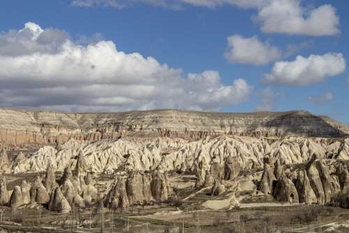 Cappadocia Fairy Chimneys Valley