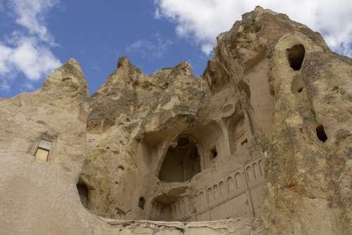 Cappadocia Valley Anatolia Stone Travel Tourism