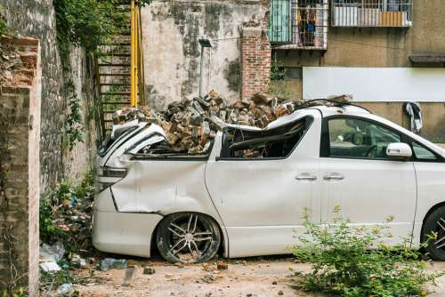 Car Crash Accident Insurance Vehicle Automobile
