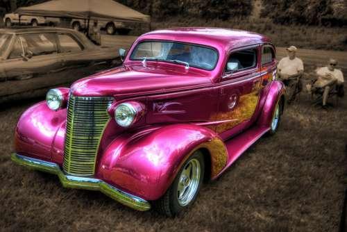 Car Antique Collectible Vintage Retro Automobile
