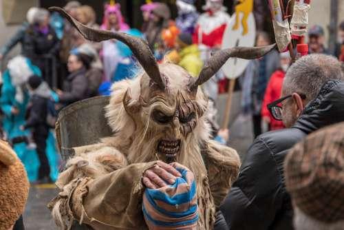Carnival Parade Carnival Mask Switzerland Bern