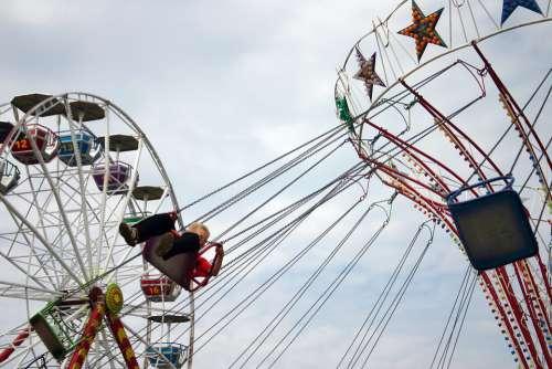 Carousel Amusement Park Entertainment Park