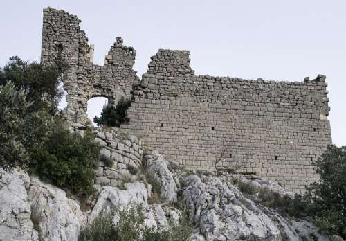 Castle Ruin Fortress Middle Ages Medieval
