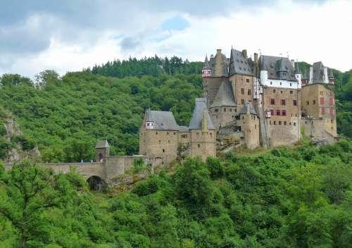 Castle Burg Deutschland Rheinland Pfalz Geschichte