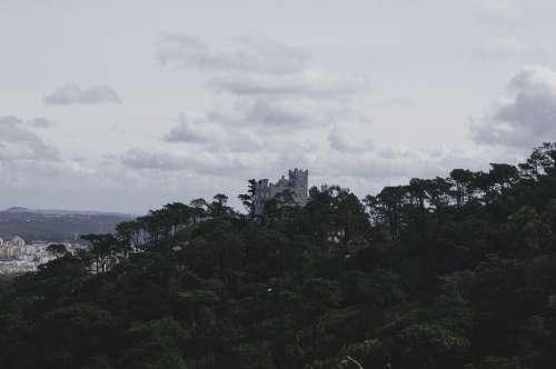 Castle Landscape Architecture Fortress Masonry