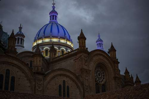 Cathedral Of Cuenca Ecuador Architecture City Dome