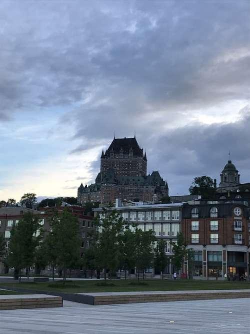 Château Frontenac Quebec City Quebec Canada
