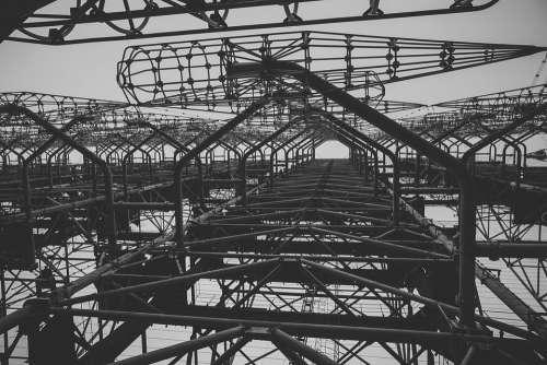 Chernobyl Radar Duga Pripyat Ukraine Observatory