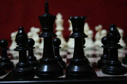 Chess Game Strategy King Challenge Play Think