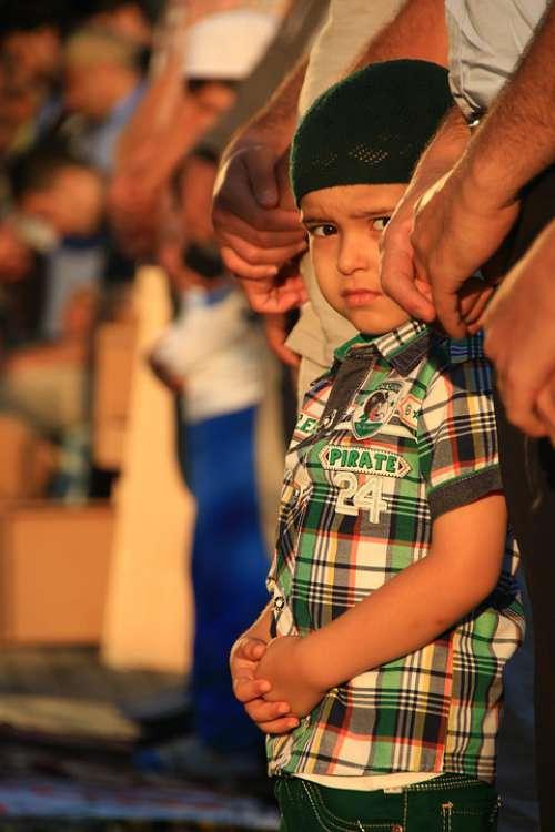 Child Prayer Islam Muslim