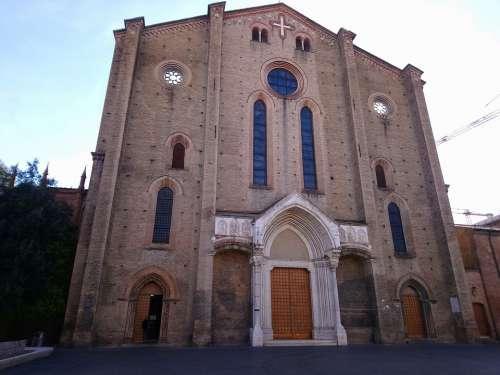 Church Piazza St Francis Bologna