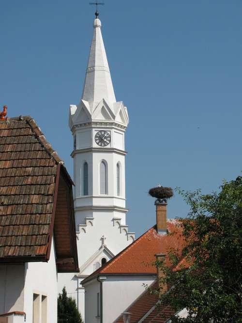 Church Village Burgenland Summer