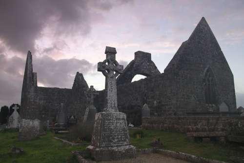 Church Ruin Architecture Chapel History Scotland