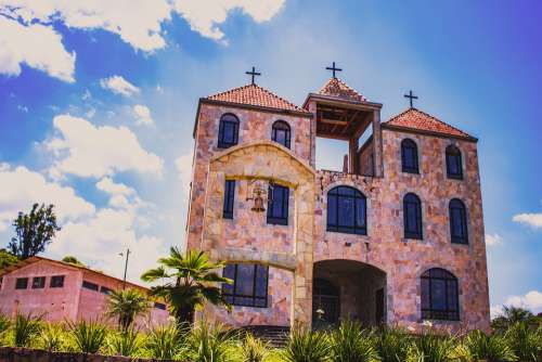 Church Landscape Architecture Nature Construction
