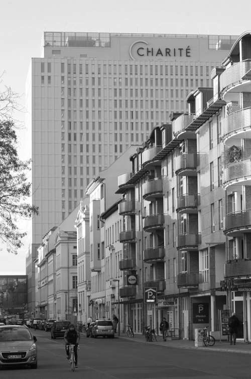 City Berlin Road Charité Hospital