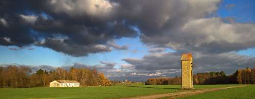 Clouds Sky Dark Autumn Forward Air Atmosphere