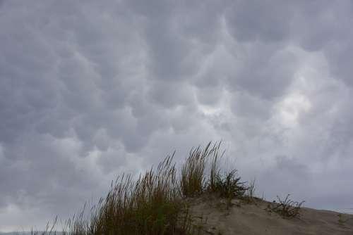 Clouds Beach Sky Sea Ocean Costa Landscape