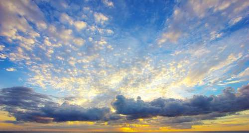 Clouds Sky Sunset
