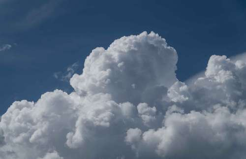 Cloudscape Sky Clouds Weather Formation White