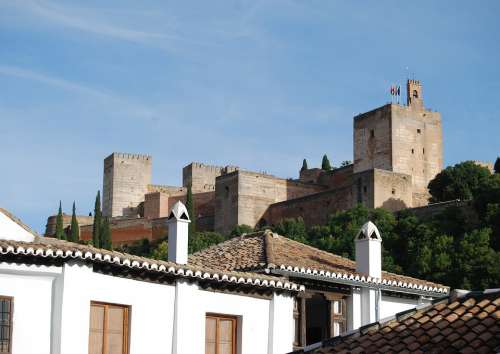 Contrasts Window Albaycin Granada
