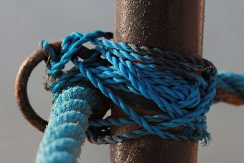 Cord Knot Rope Nautical Fixing Cordage Bound Dew