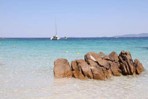 Corsica Sea Beach Summer Coti-Chiavari Corsican