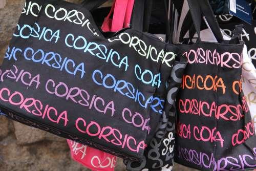 Corsica Bag Tourism Travel Souvenir