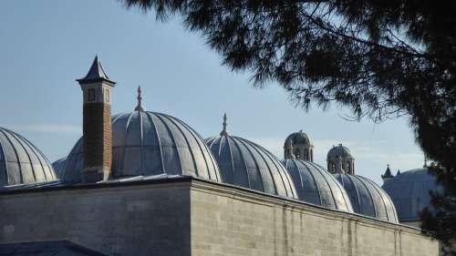 Dome Mosque Turkey Architecture Religion