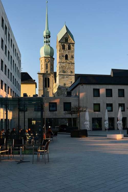 Dortmund Downtown Reinoldi Church Reinold'S Church