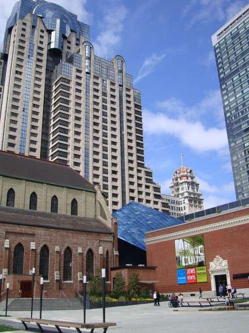 Downtown Francisco California Buildings Usa