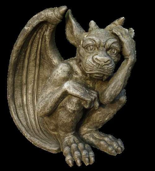 Dragon Gnome Gargoyle Fantasy Figure