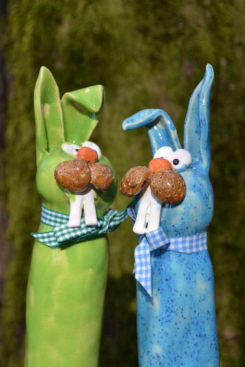 Easter Easter Bunny Spring Hare Deco Ears