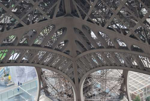Eiffel Tower Metal Structure