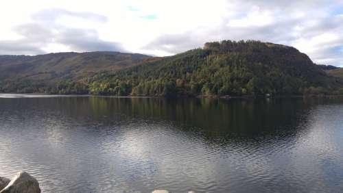 Eileen Donan Castle Scotland Highlands Loch Water