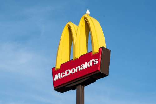 Fast Food Logo Burger Hamburger Mcdonald'S