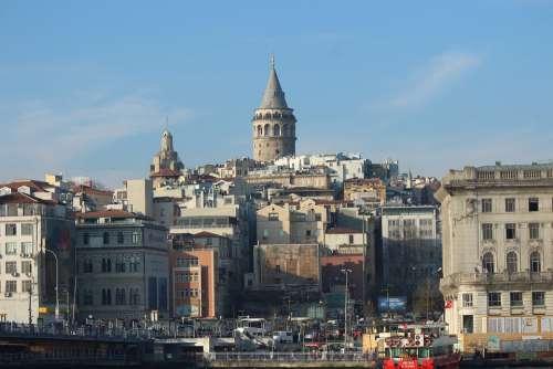 Galata Tower Galata Tower On Beyoğlu Istanbul