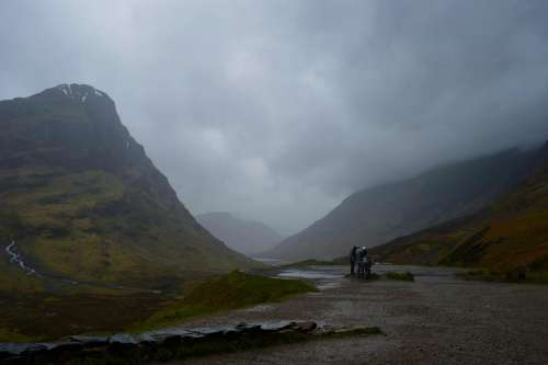 Glencoe Lost Valley Scotland Route 66 Mountain