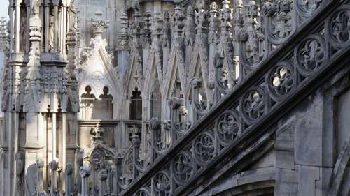 Gothic Cathedral Milan Italy Tourism Travel