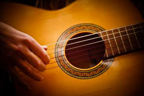 Guitar Music Instrument Guitarist Melody Song