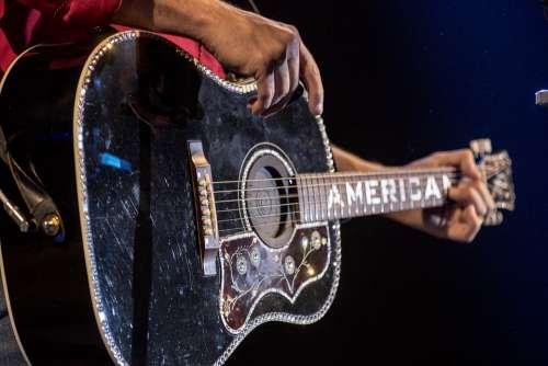Guitar America Musician Concert Big Rich