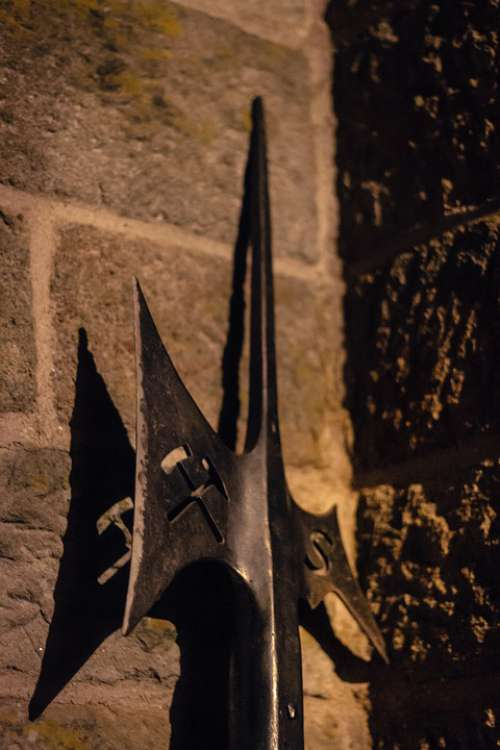 Halberd Axe Mysticism Cut Weapon Fight Weapon