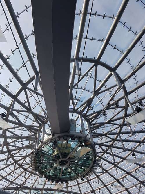 Hangar 7 Salzburg Glass Glass Roof Construction