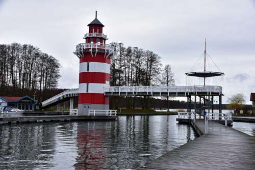 Harbor Village Rheinsberg Tourism Brandenburg Docks